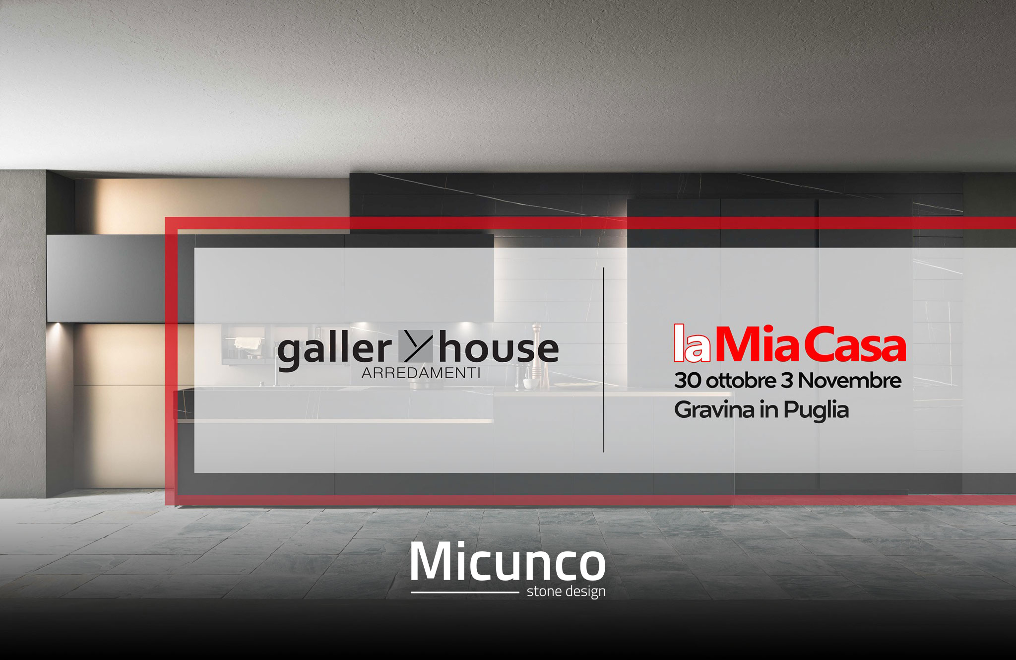 """Presenti alla fiera """"La Mia Casa"""" in collaborazione con Gallery House"""