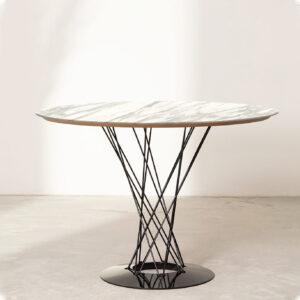 tavolo da pranzo rotondo calacatta xfade